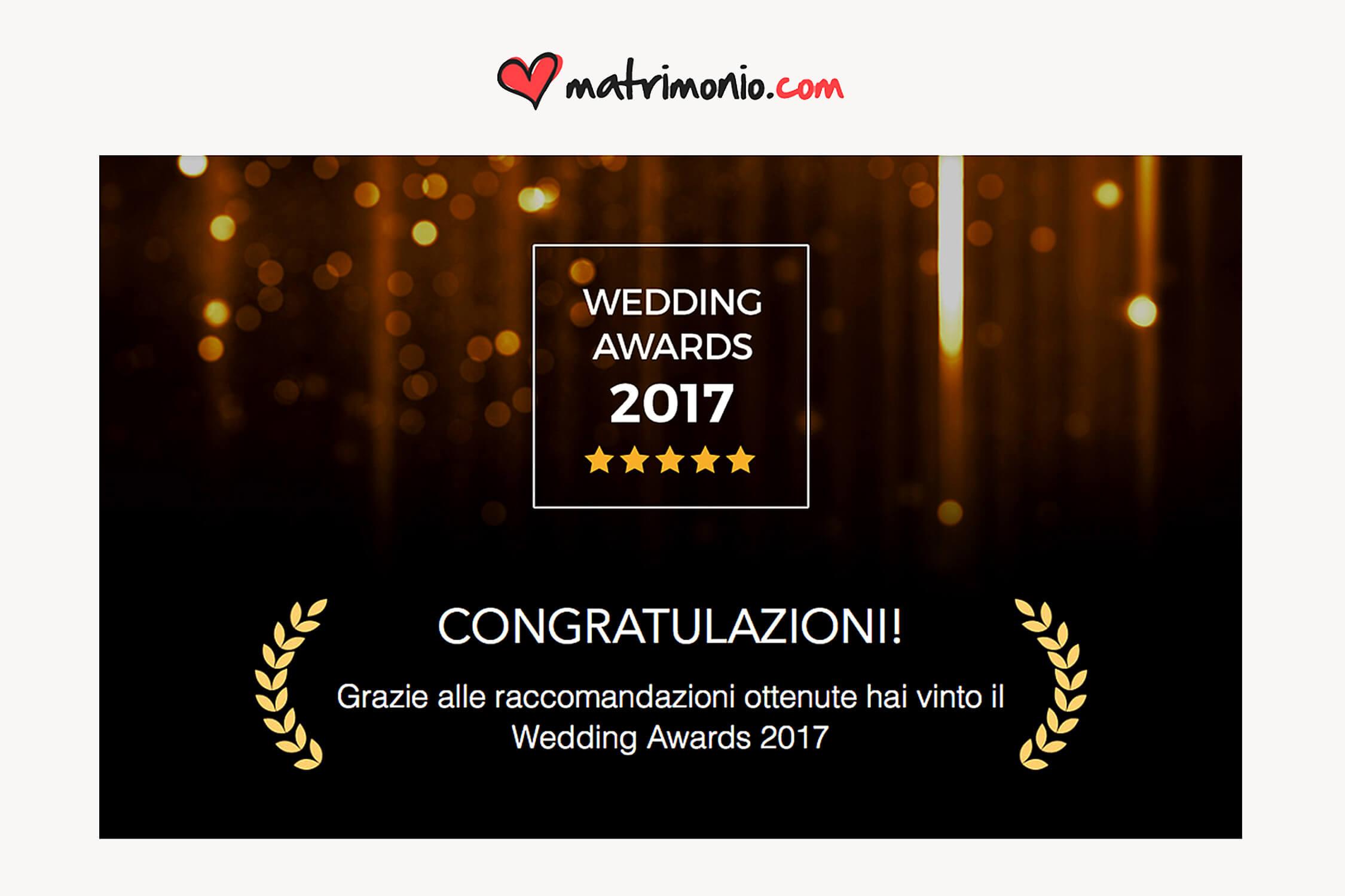Premio 2017 - Migliori Recensioni