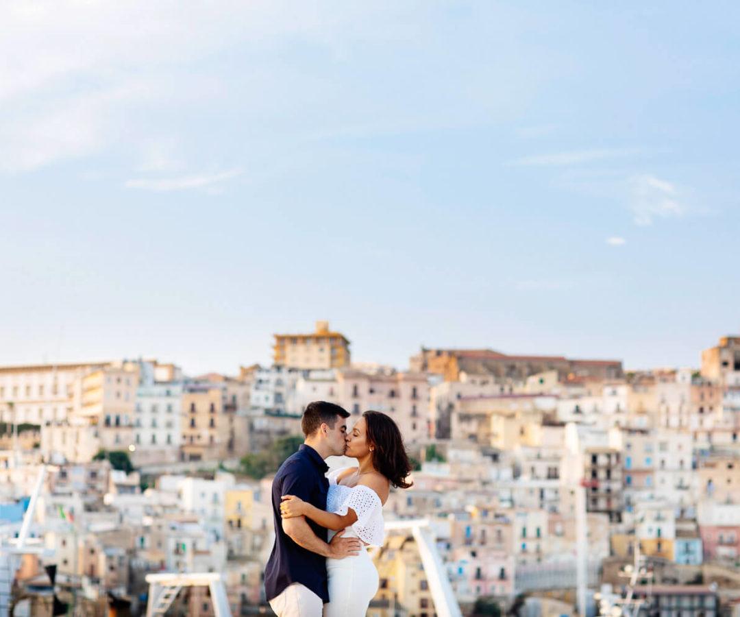 Fotografo a Sciacca per servizio fotografico di fidanzamento ad Agrigento