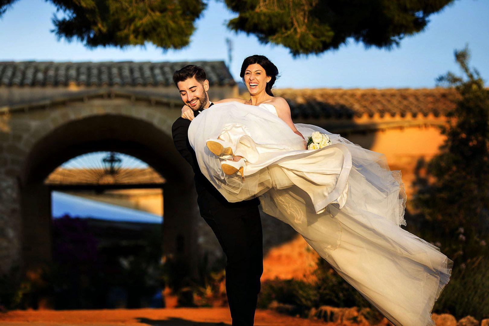 Reportage di Nozze degli sposi. Nino Lombardo Fotografo
