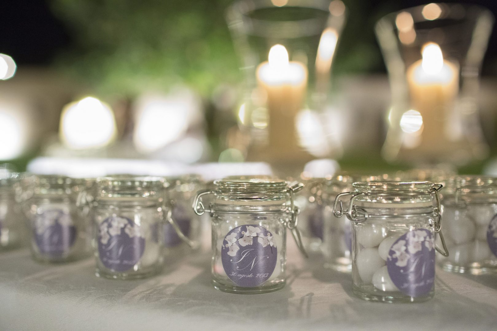 Particolari delle bomboniere. Nino Lombardo fotografo matrimonio a Modica