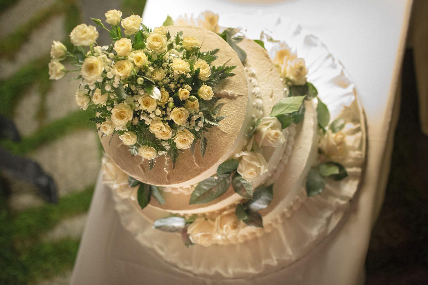 Particolare della torta. Nino Lombardo fotografo matrimonio a Modica