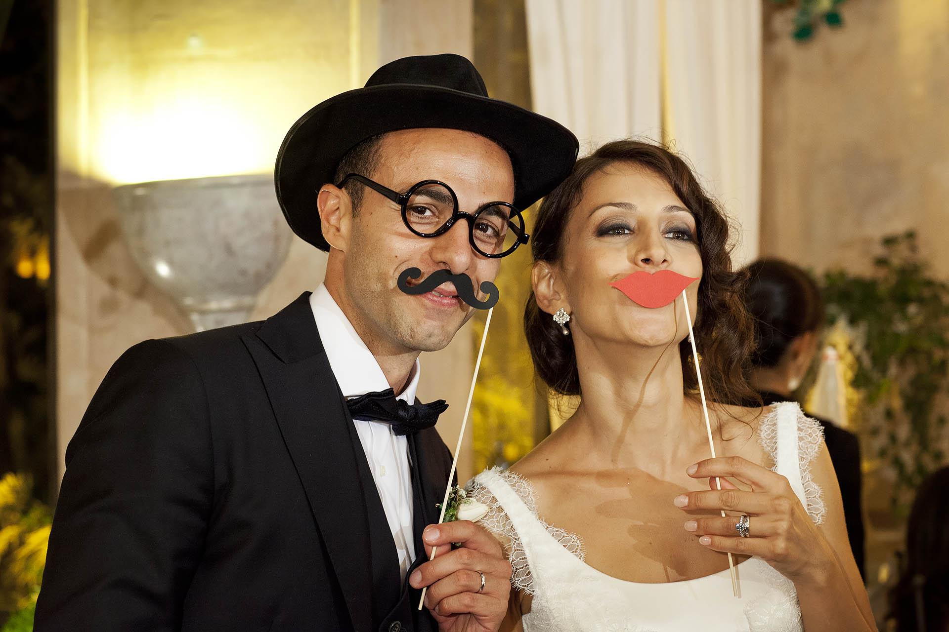 Fotografo un Matrimonio stile anni 30 a Taormina