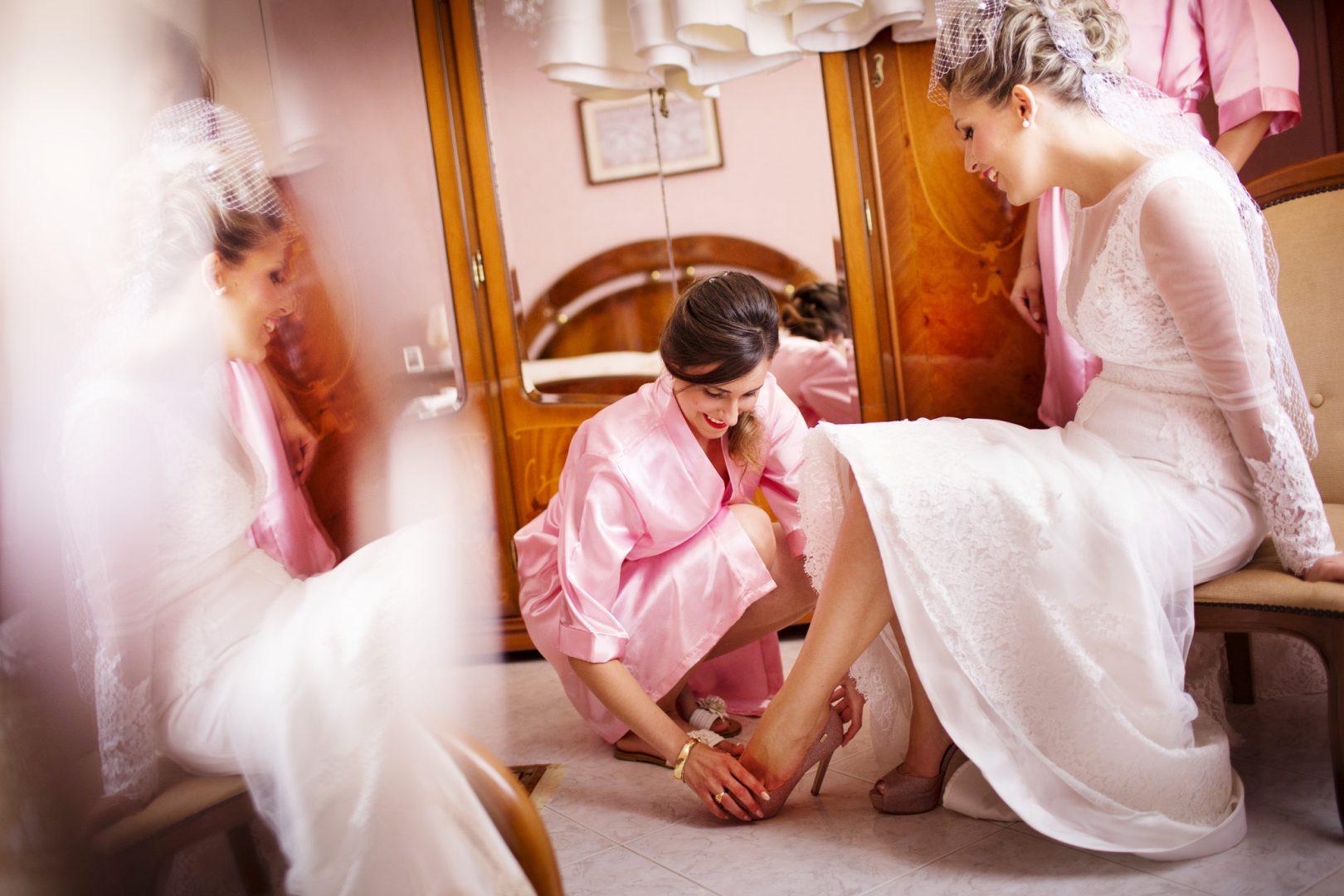 A casa della sposa. Il fotografo per matrimonio sicilia Nino Lombardo