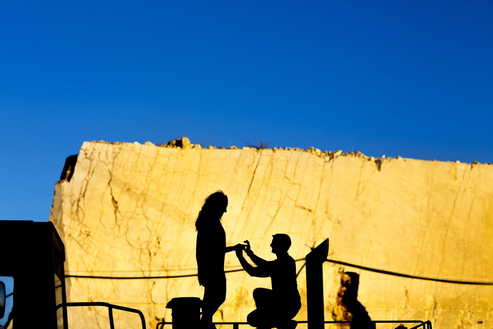 Sicily Engagement Proposal Photo Session By Nino Lombardo Photographer in Custonaci