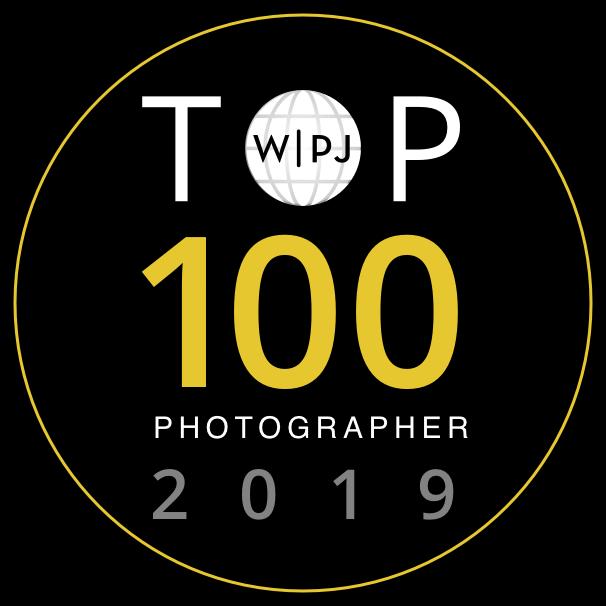 TOP 100 miglior fotografo di matrimonio del mondo titolo globale da WPJA