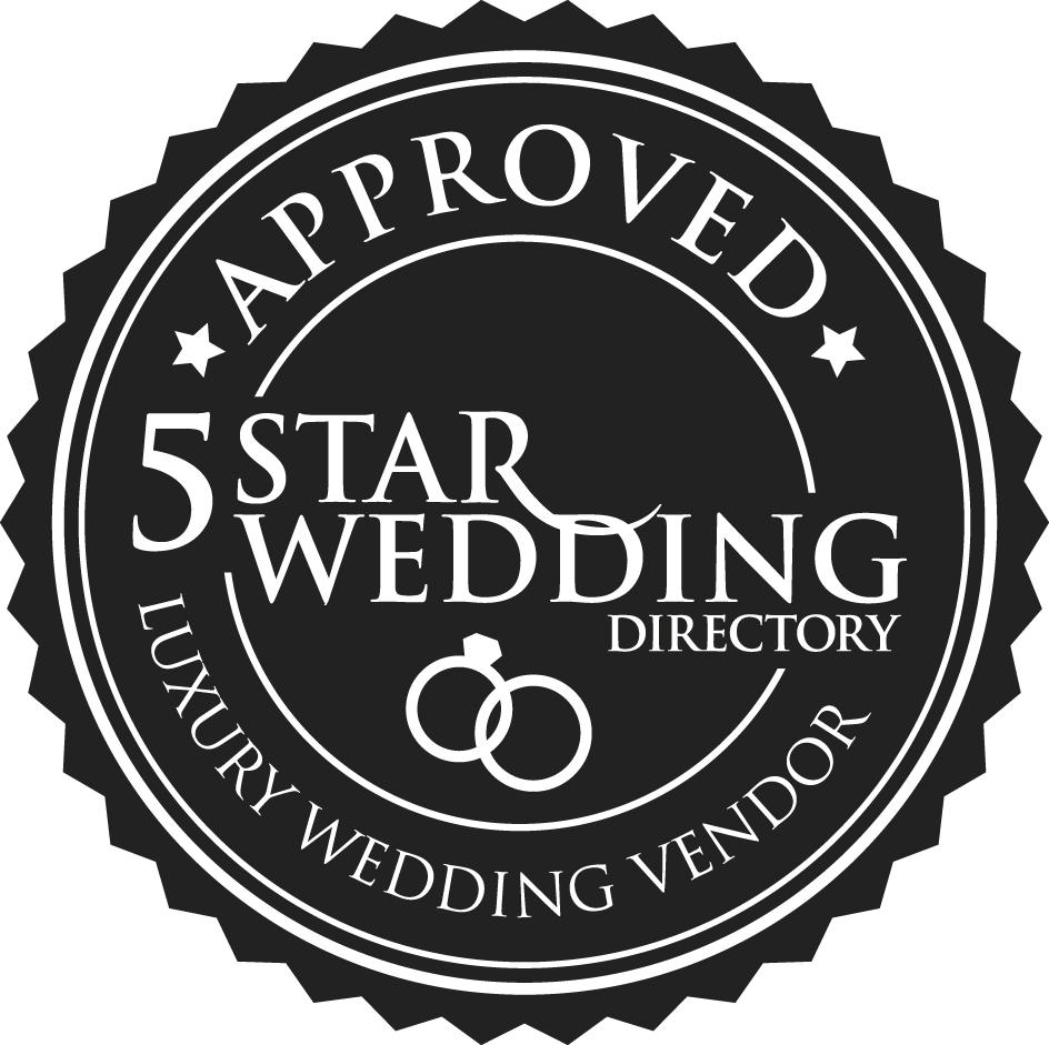 5 Star Wedding Logo
