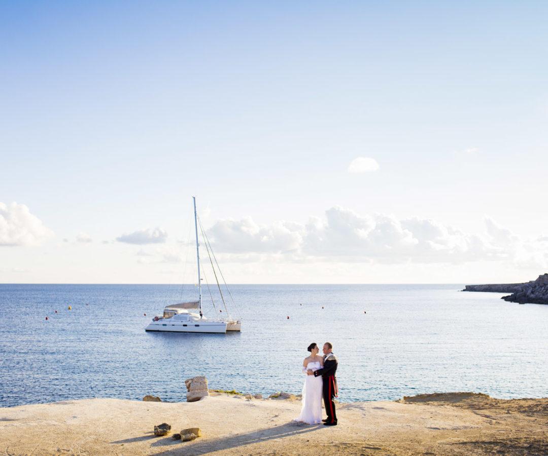 Servizio Fotografico di un matrimonio a Favignana realizzato dal fotografo Nino Lombardo