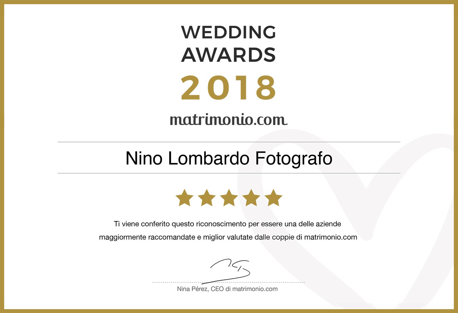 Migliori Recensioni e raccomandazioni per il Fotografo siciliano Nino Lombardo Feedback