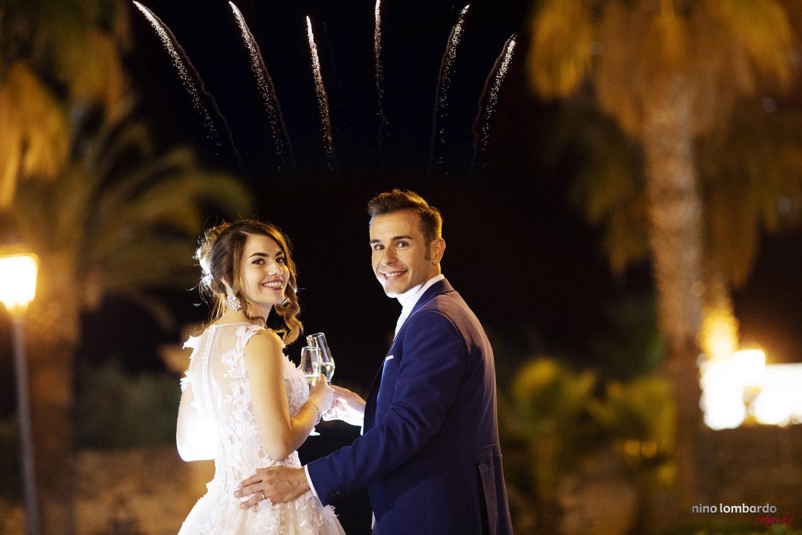 Servizio fotografico di Nino Lombardo fotografo per matrimonio a Modica ricevimento Villa Anna