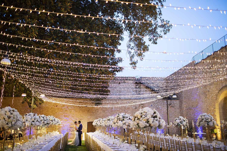 Matrimonio dentro il Castello di Trabia in Sicilia Nino Lombardo