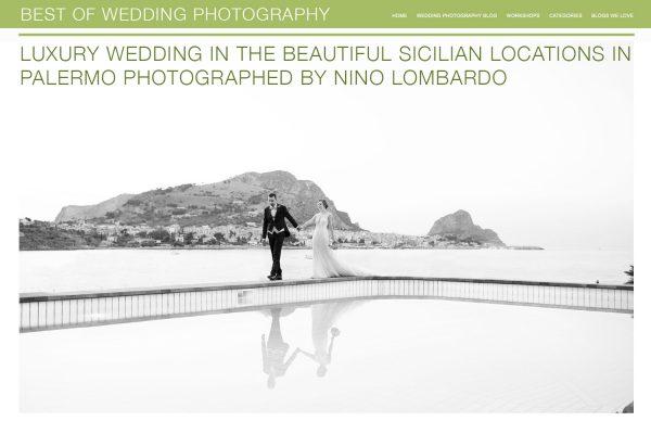 Servizio fotografico di Nino Lombardo pubblicato dal Blog di Best of wedding Photography