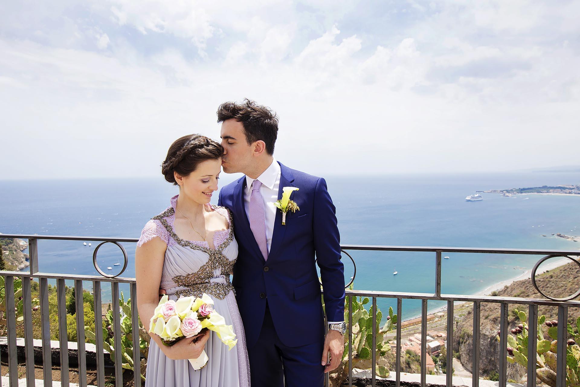 Matrimonio a Taormina rientra nella Biografia Fotografo Nino Lombardo