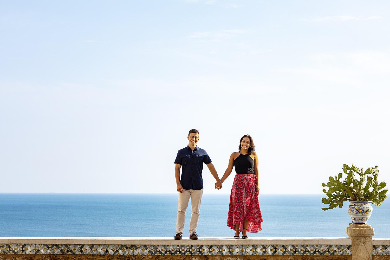 un allegro servizio fotografico di coppia realizzato da Nino Lombardo