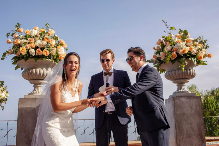 Real Emotions capturing by Best Wedding Photographer in Sicily