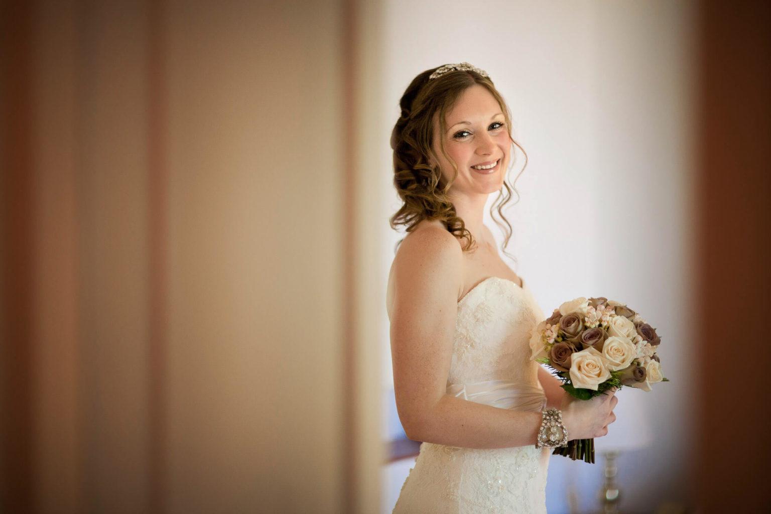 Ritratto della sposa, una foto di matrimonio di Nino Lombardo