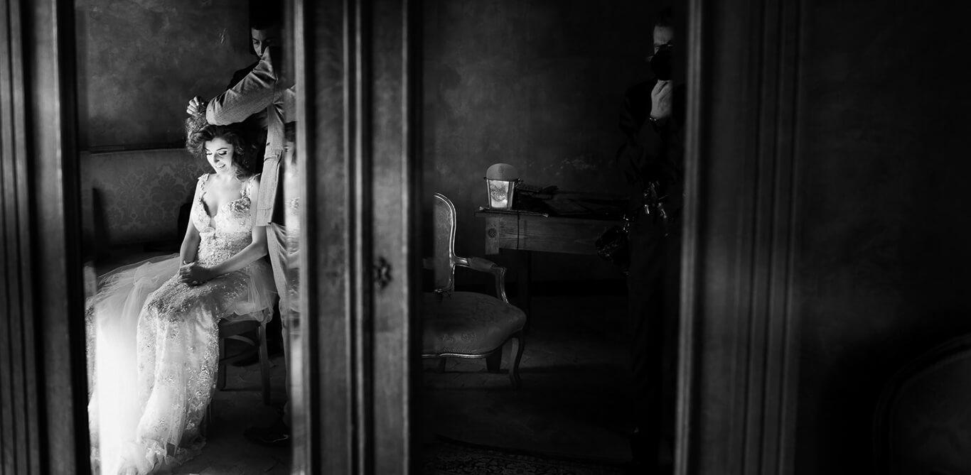 Taglio capelli dopo la cerimonia a Siculiana, Fotografo Matrimonio Agrigento in Sicilia Nino Lombardo