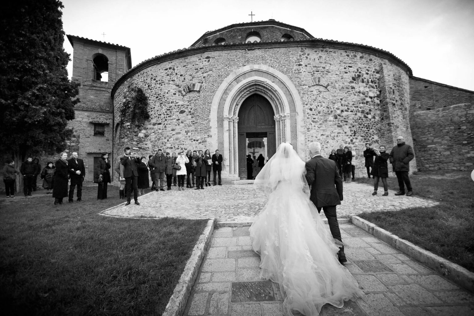 Winter wedding in Perugia reportage by Nino Lombardo photographer