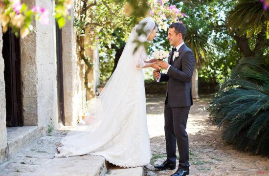 fotografo matrimonio polacco Castelvetrano in Villa Privata
