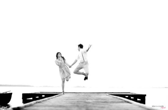 Trapani saltworks engagement photo shoot