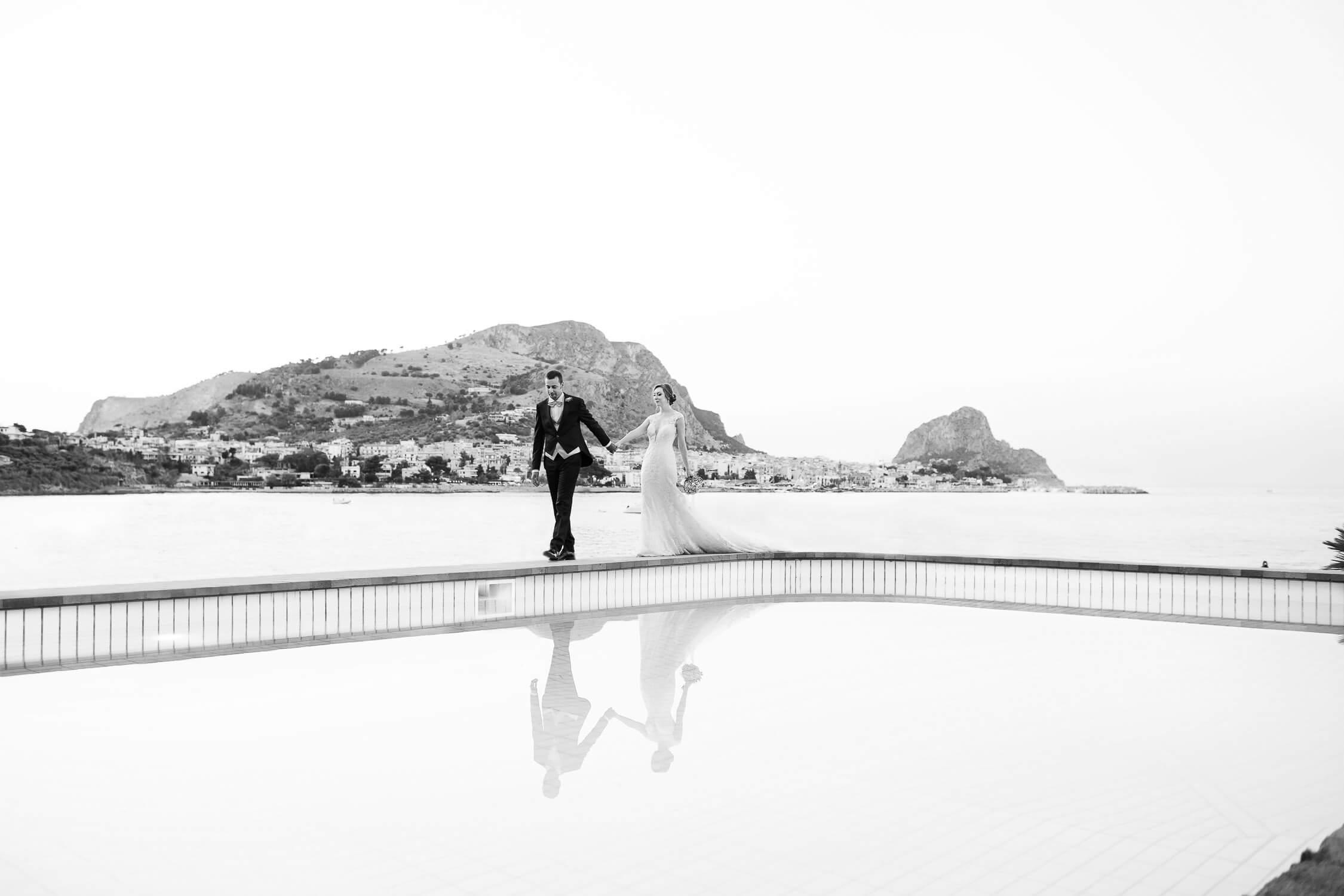 Matrimonio a Palermo al Castello di Solanto, elegante fotografia di Nino Lombardo, Fotografo matrimoni Sicilia