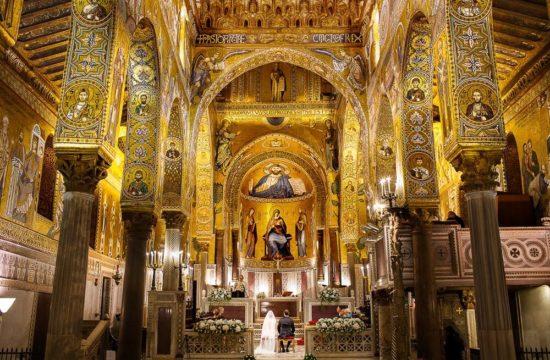 Cappella Palatina Fotografo Reportage Matrimonio a Palermo