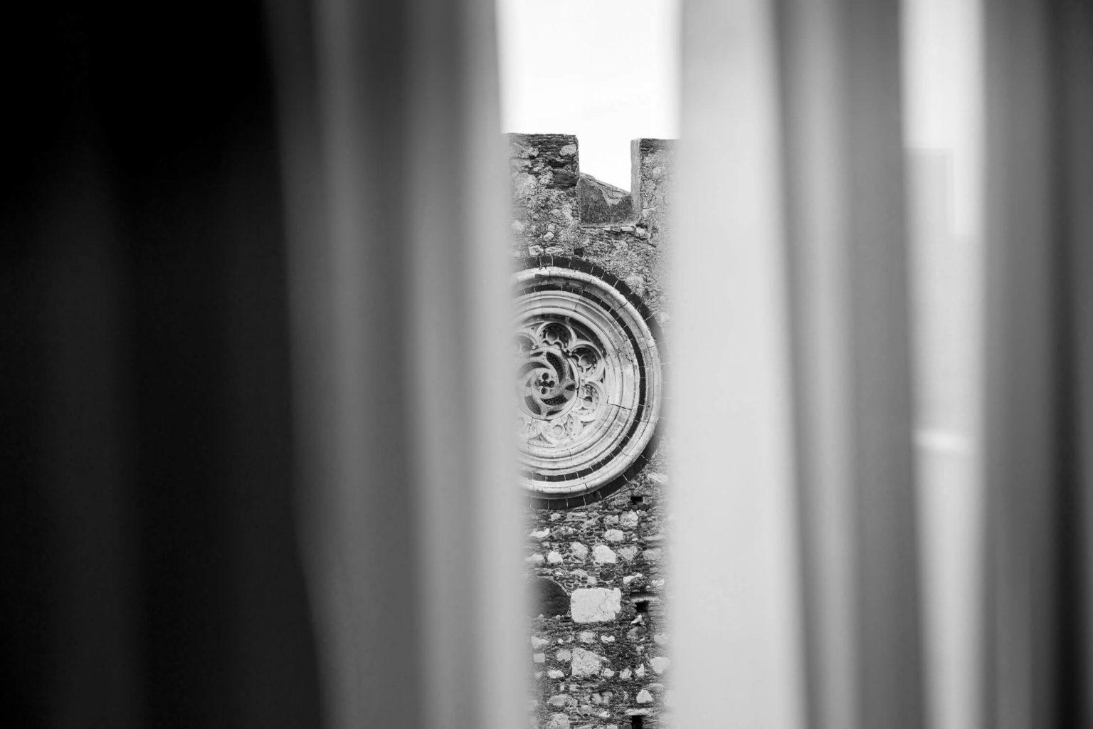 Scorci dall'hotel, foto bianco e nero per matrimonio di Nino Lombardo