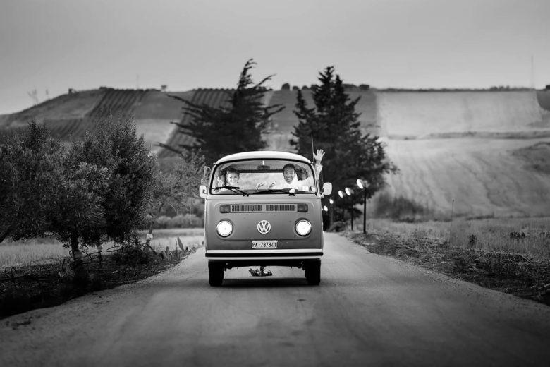 Menfi Matrimonio Vigneto Foto Bianco Nero Bravo Fotografo per matrimoni in Sicilia