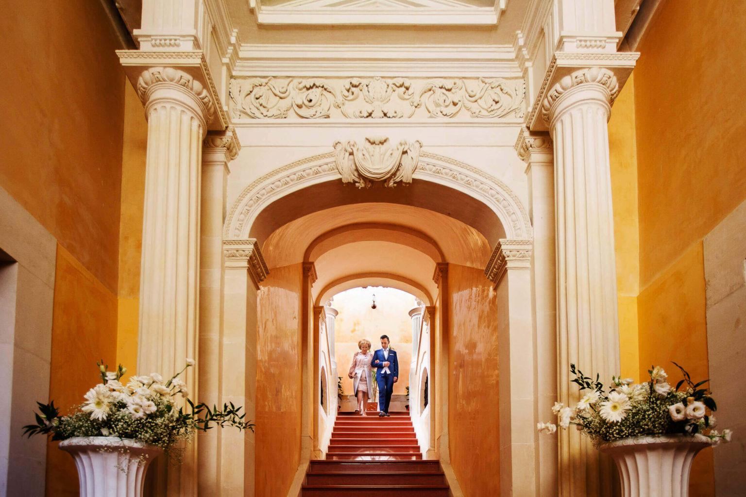 Uscita casa sposo, foto per matrimonio di Nino Lombardo