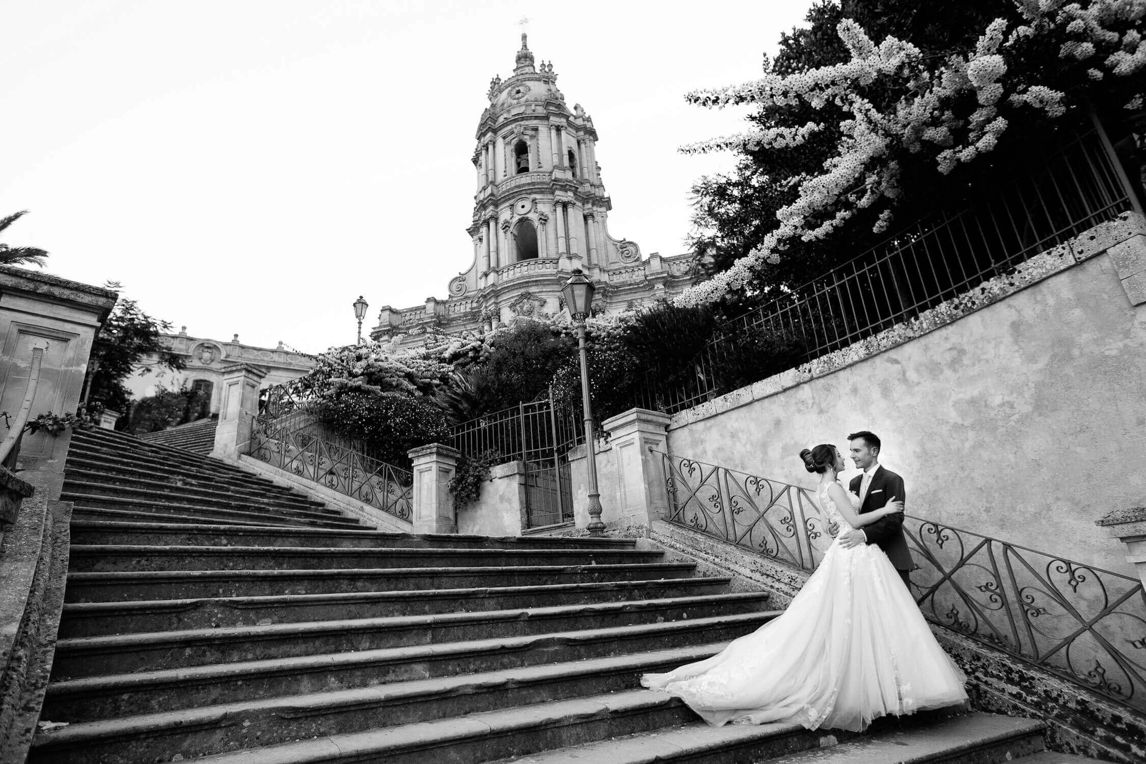 Modica Wedding Photographer black and white photos for Nino Lombardo's wedding