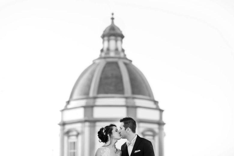 Fotografia matrimonio a Trapani in bianco e nero