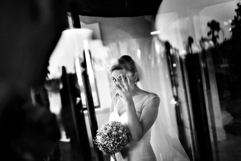 Matrimonio a Trapani. Foto durante i preparativi della sposa