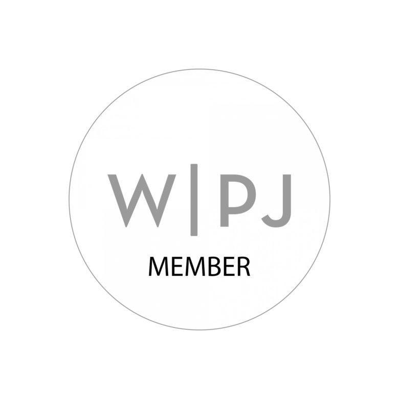 Logo associazione internazionale fotogiornalisti per matrimoni WPJA di cui Nino Lombardo è membro Migliori fotografi per matrimonio