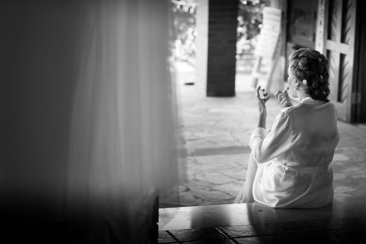 Fotografo a Menfi reportage matrimonio bianco e nero bellissimo