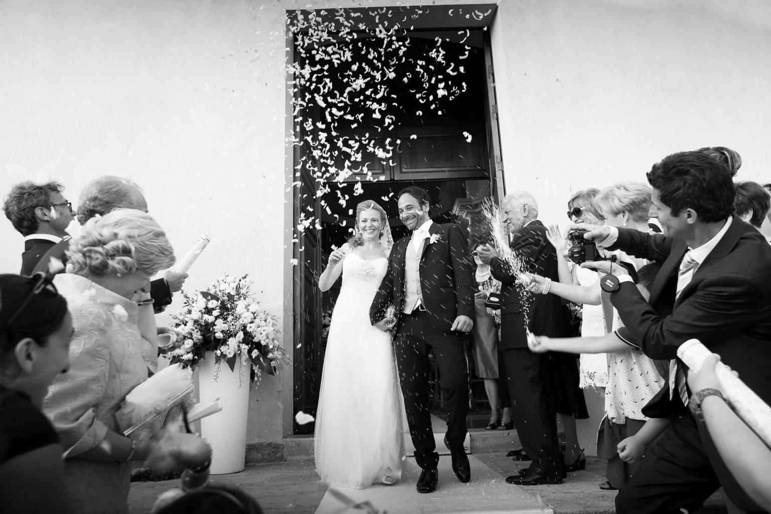 Fotografia spontanea degli sposi ad Agrigento