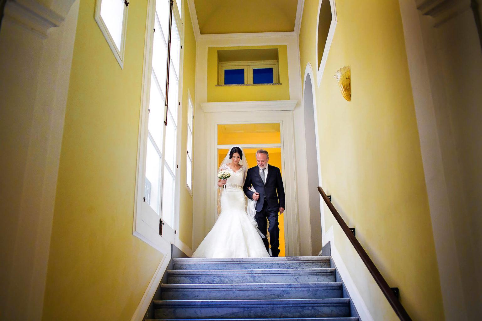 Fotografo reportage di matrimonio a Trapani a casa della sposa