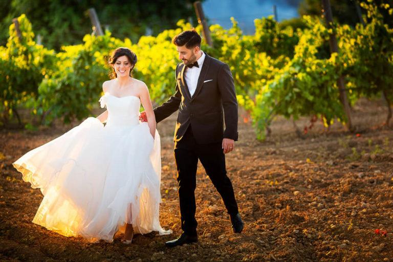 Foto Sposi Baglio San Vincenzo per matrimonio a Menfi