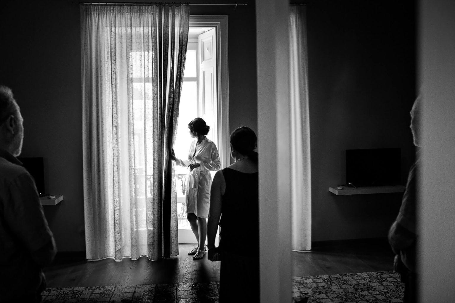 Trapani foto spontanee in bianco e nero per i migliori matrimoni