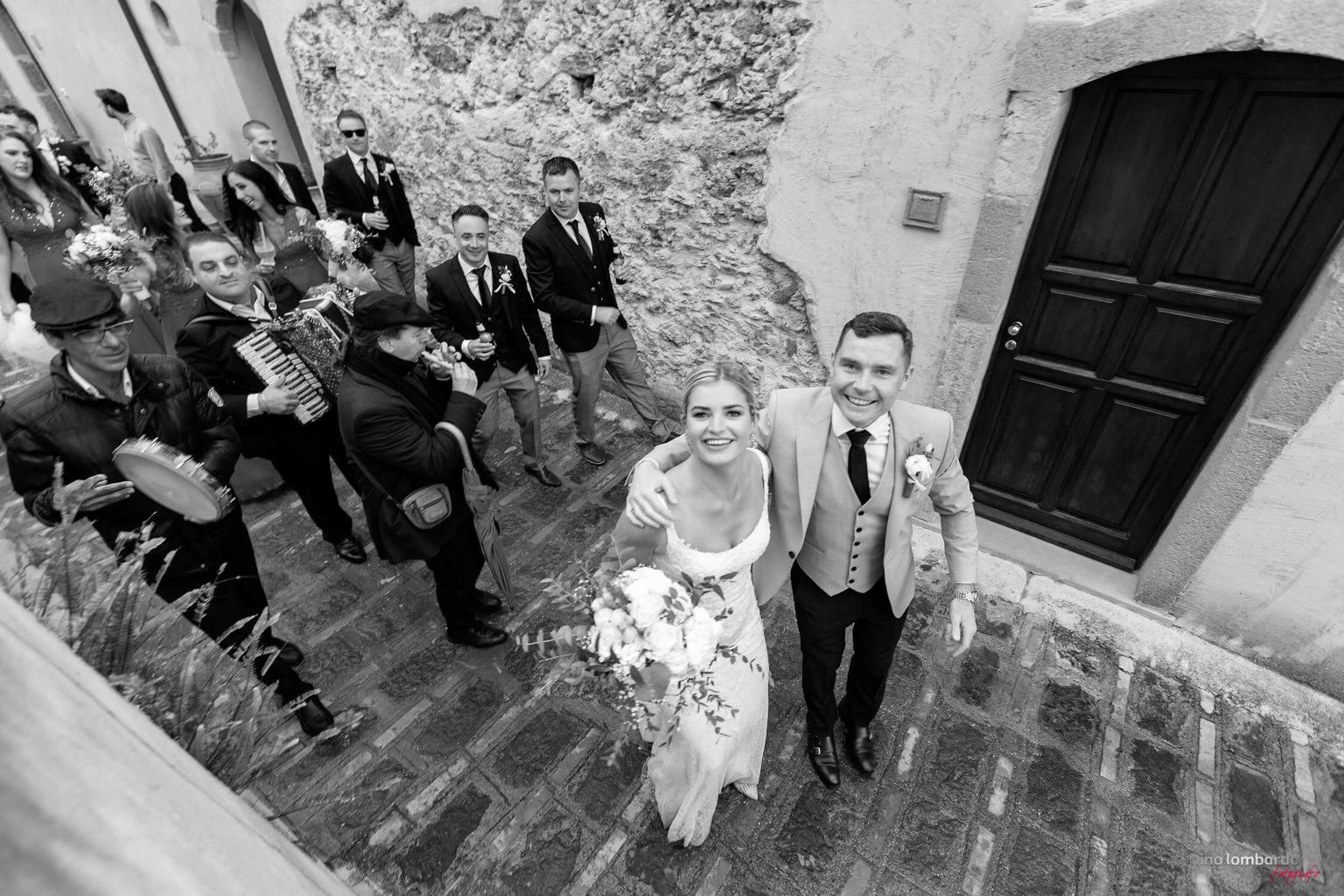 Irish wedding reportage at Savoca photographed in Borgo San Rocco by Nino Lombardo