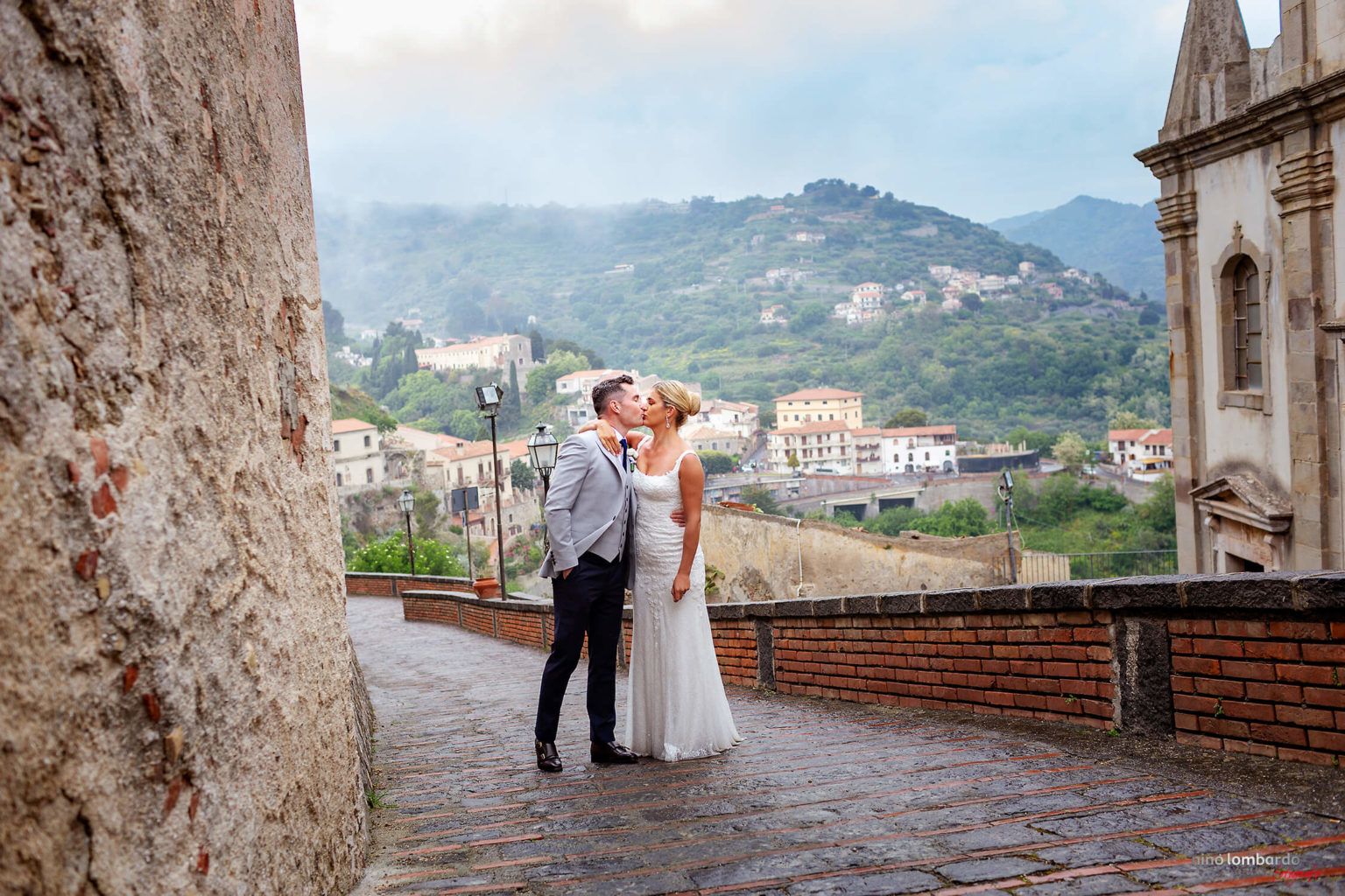Photographer in Savoca for reportage of an Irish wedding in Borgo San Rocco