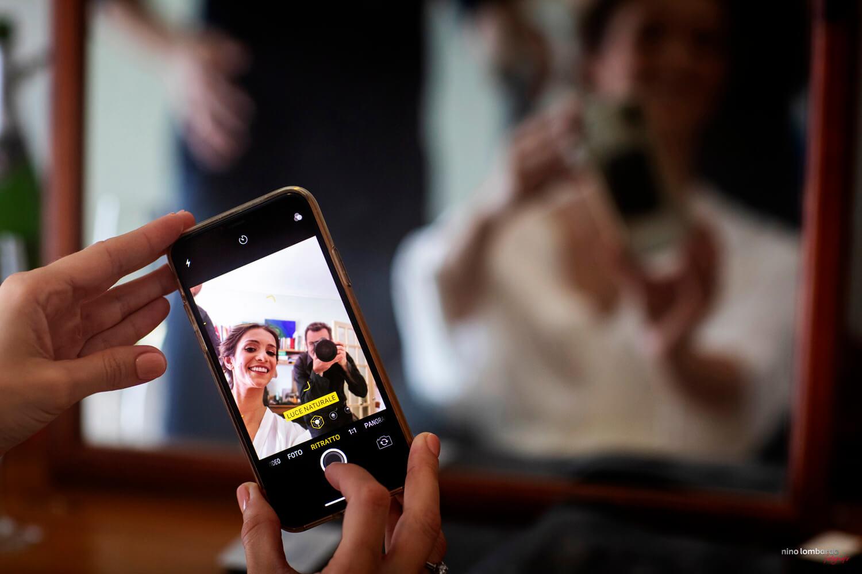 Servizio fotografico a Trapani a casa della sposa per matrimonio in Sicilia