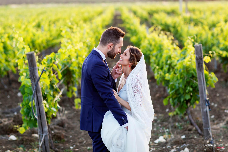 Servizio fotografico per matrimonio tema boho chic a Trapani con i migliori scatti spontanei