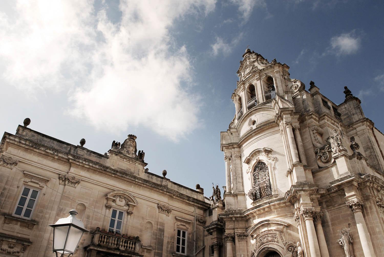 Photo Church in Sicilian Baroque Style in Modica