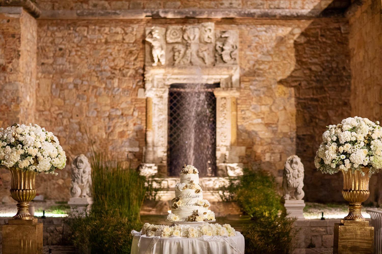 Foto al Castello per Matrimonio con Tema Barocco Siciliano a Palermo