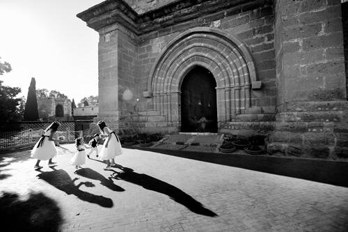 foto bianco e nero per matrimonio di Nino Lombardo - Chiesa di San Nicola ad Agrigento