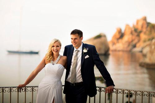 Fotografo per Matrimonio a Cefalù al Le Calette Hotel
