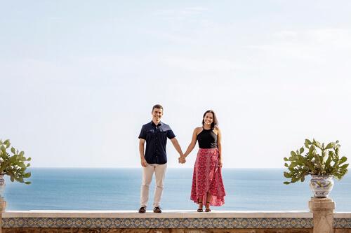 Foto Fidanzamento pre matrimonio a Taormina in Sicilia