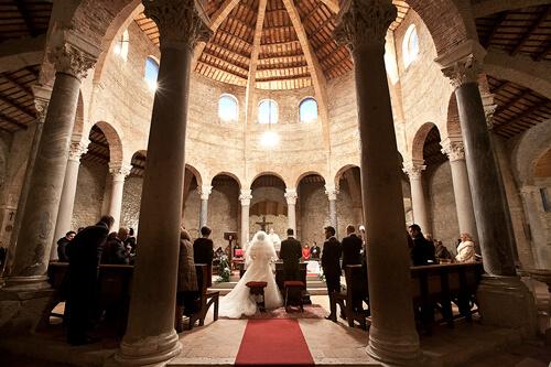 Fotografo Matrimonio Perugia al Tempietto
